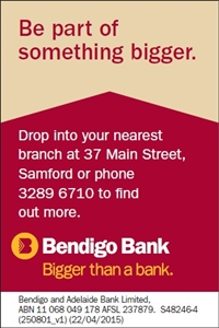 Samford Community Bank Branch Bendigo Bank